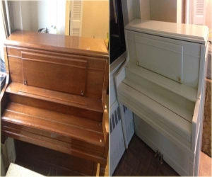 Piano Refinishing color change