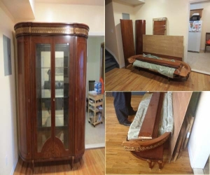 armoire china repair assembly restoration
