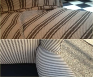 chair upholstery repair arm tear
