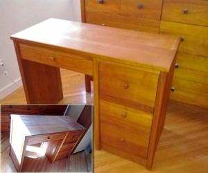 desk refinsihing in home