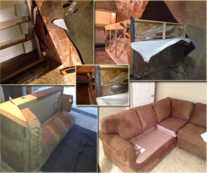 disassemble couch