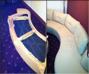 disassemble sofa
