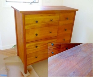 dresser refinishing  top
