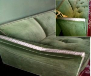 sofa broken arm repair top rail